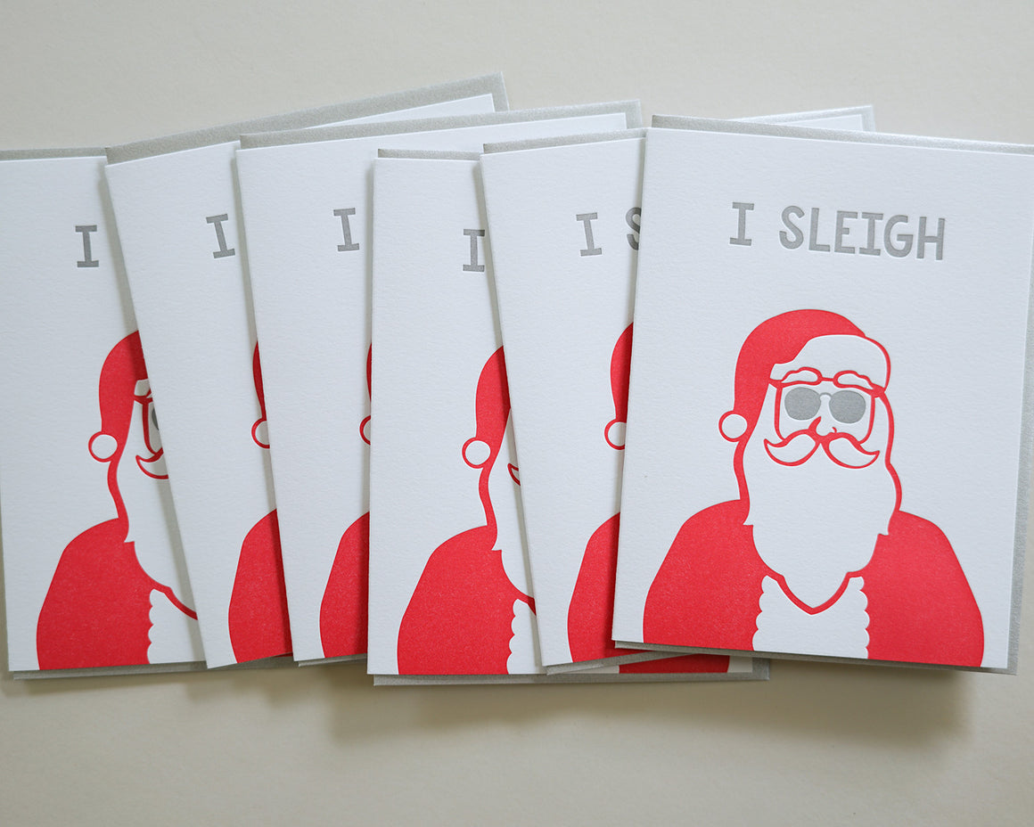 I Sleigh - Boxed Set of 6