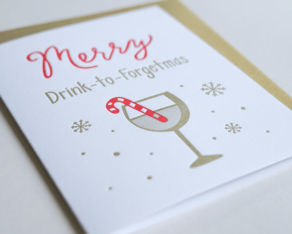 Drink to Forgetmas