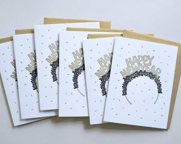 New Years Crown - Boxed Set of 6