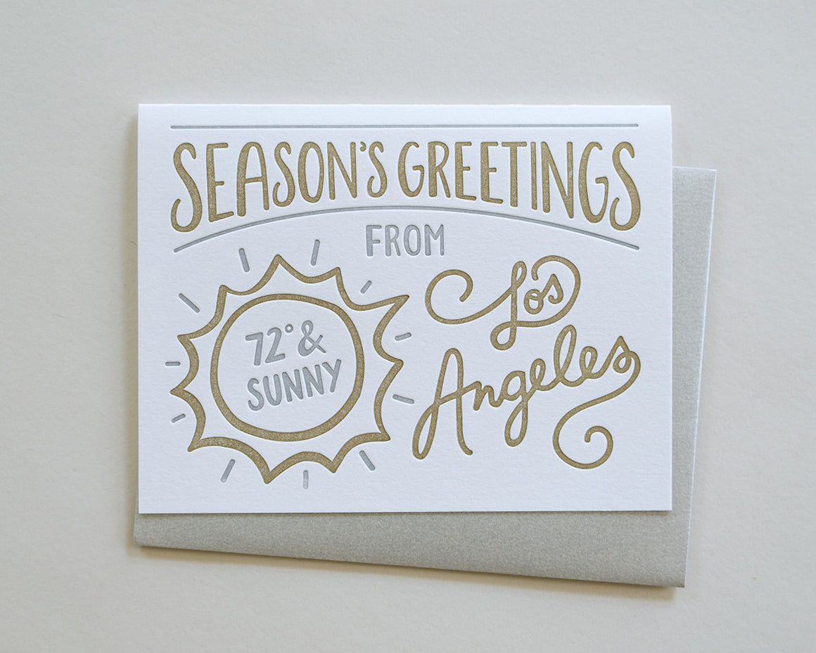 Season's Greetings from Los Angeles