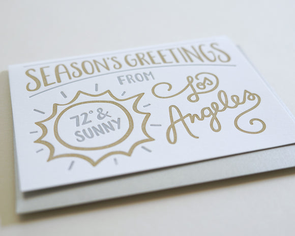 Seasons Greetings from Los Angeles - Boxed Set of 6