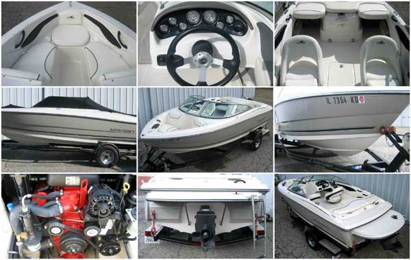 2008 Monterey 180 FS used Boat for Sale