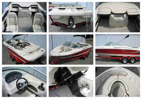 2010 Sea Ray 205 Sport Used Boat for Sale