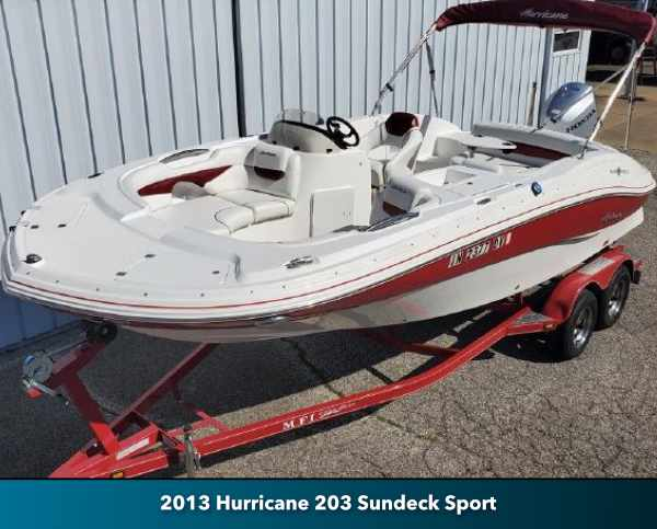 Used Hurricane Boat for Sale