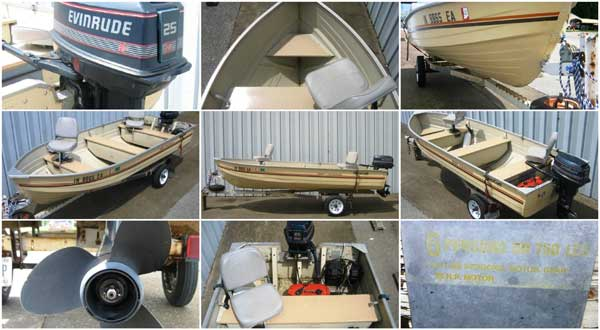 1984 MirroCraft 14' Deep Fisherman for Sale IN