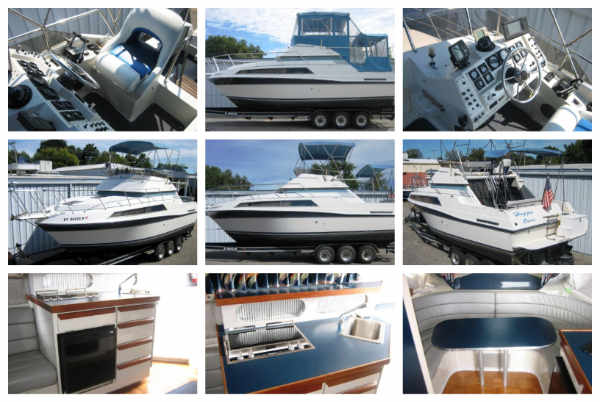 1988 Carver Santego Flybridge for Sale