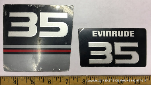 Evinrude 35 Decals for Sale