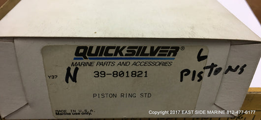 39-801821 Ring Set Std 8 CYL for Sale
