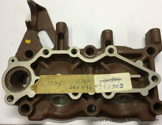 395702 Cylinder Head & Water Cover for Sale