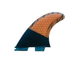 FCS II Compatible Fins Honeycomb / Carbon Fin (Multiple Styles)