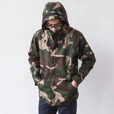 Camouflage Skate / Sporting Jacket
