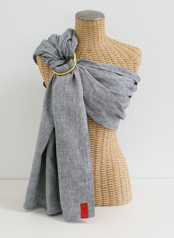 Marin Chambray :: Sakura Bloom Baby Sling