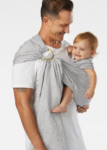 Heron Chambray :: Sakura Bloom Baby Sling