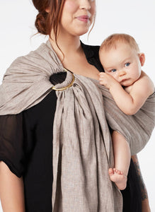 Twig Chambray :: Sakura Bloom Baby Sling