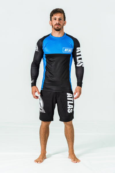 RASH GUARD LS - BLUE