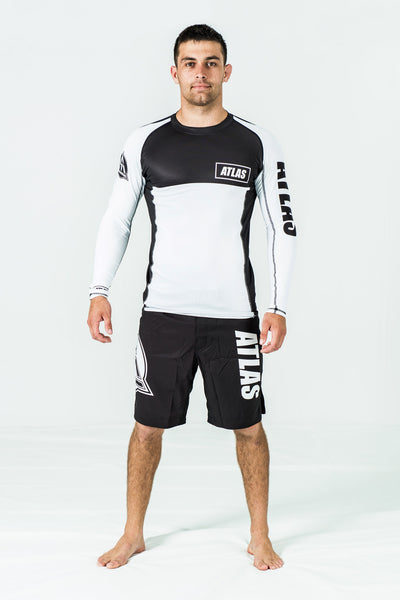 RASH GUARD LS - WHITE