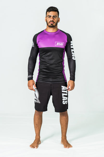 RASH GUARD LS - PURPLE