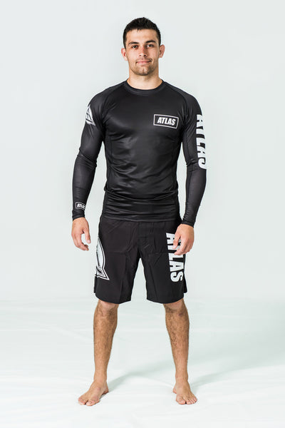 RASH GUARD LS - BLACK