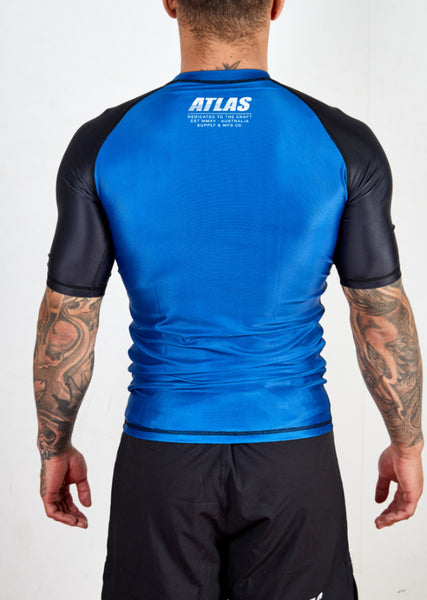 SPLITTER RASH GUARD - BLUE/BLK