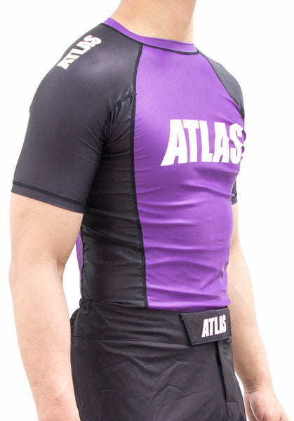 EVO RASH GUARD - PURPLE/BLK