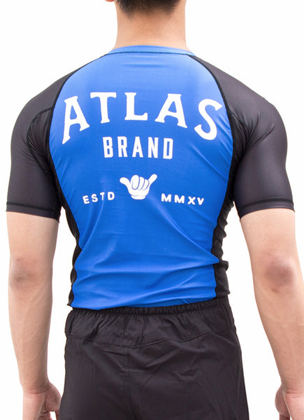 EVO RASH GUARD - BLUE/BLK