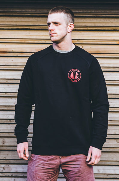 LIFESTYLE SUPPLY CO. FLEECE - BLACK [UNISEX]