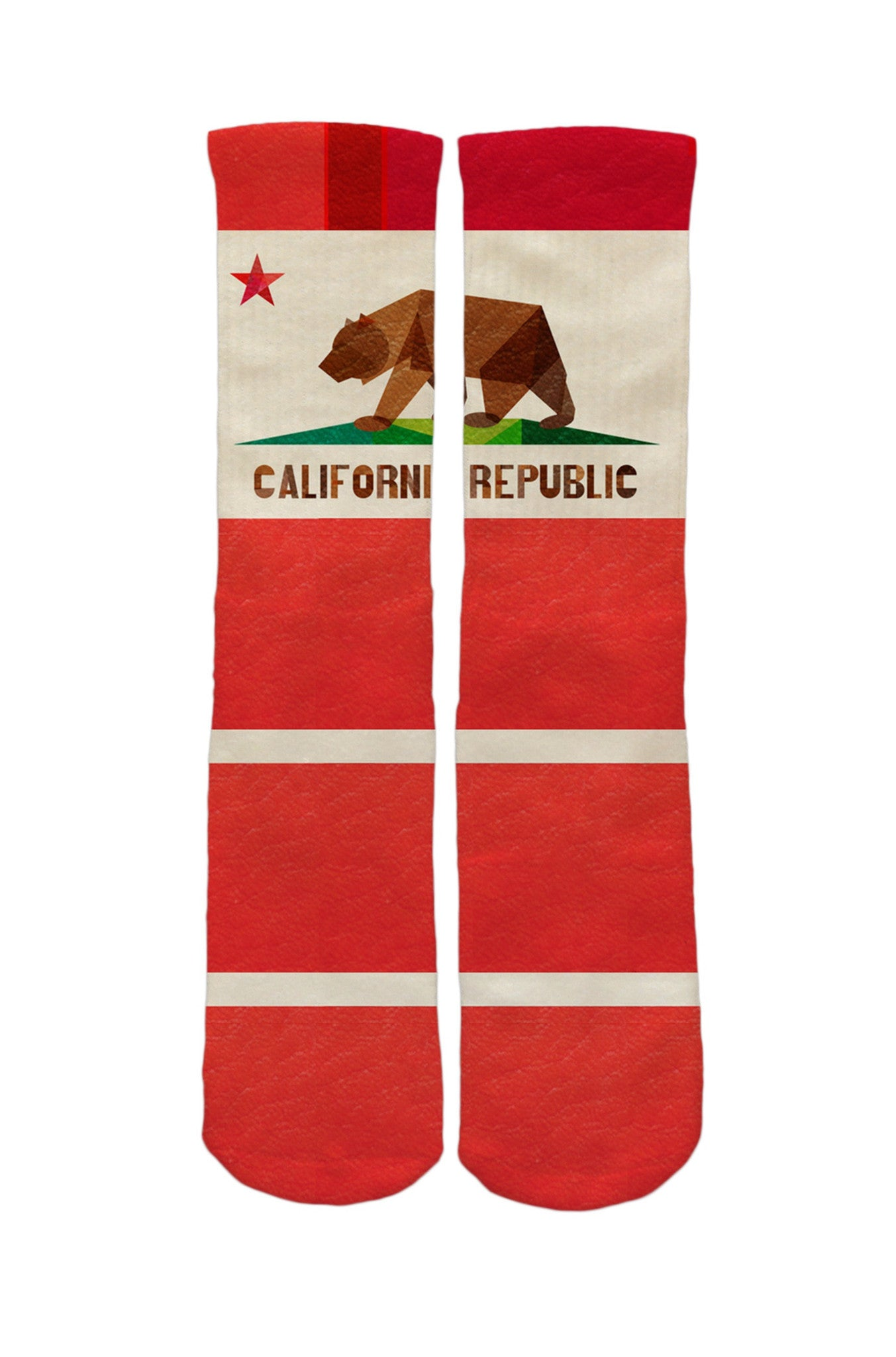 California Flag Socks