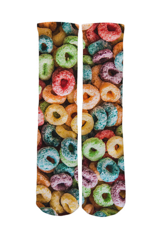 Froot Loops Socks