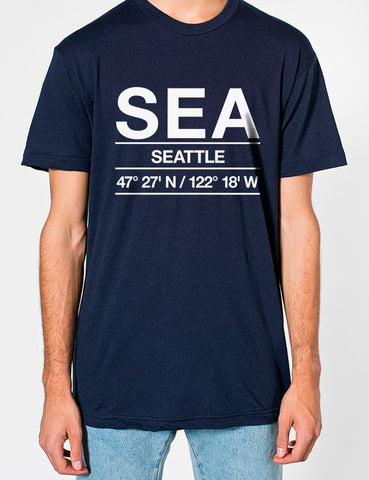 SEA Airport Shirts Men's