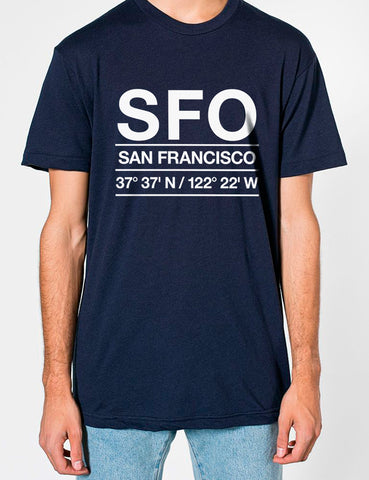 SFO Airport Shirt Men's