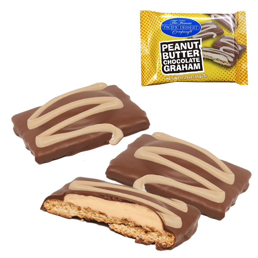 1.25 oz Peanut Butter Chocolate Graham