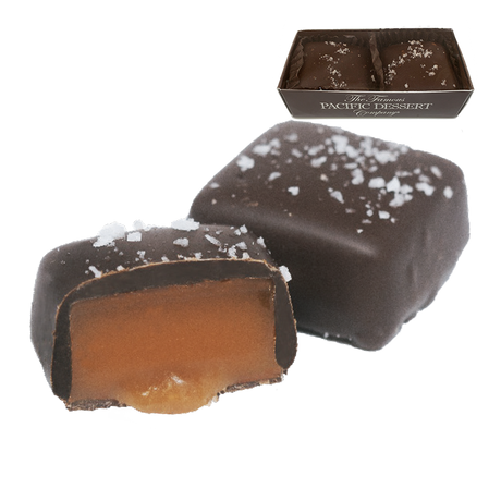 1.35 oz Dark Chocolate Salted Caramels