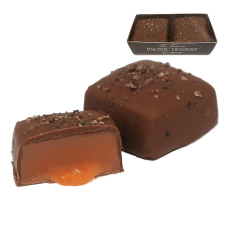 1.35 oz Milk Chocolate Salted Caramels