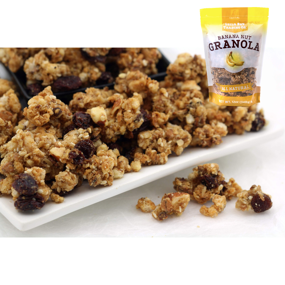 12 oz Banana Nut Granola