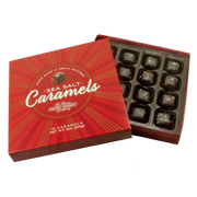 9 oz Dark Chocolate Sea Salt Caramels