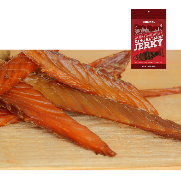 3 oz Original Smoked Salmon Jerky