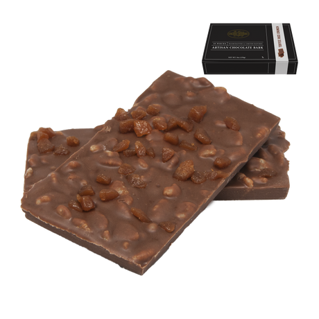 6 oz Toffee Rice Crunch Artisan Chocolate Bark