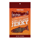 3 oz Teriyaki Smoked Salmon Jerky