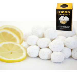 8 oz Lemon Tea Cookies