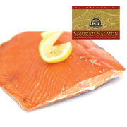 8 oz Smoked Sockeye in Gold Gift Box