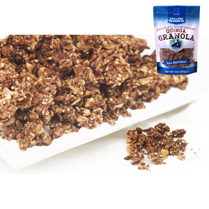 9 oz Chocolate Huckleberry Quinoa Granola