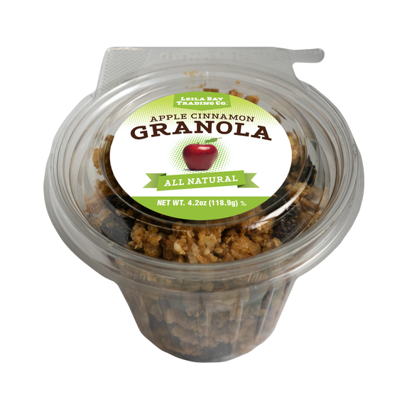 4.2 oz Single Serve Apple Cinnamon Granola