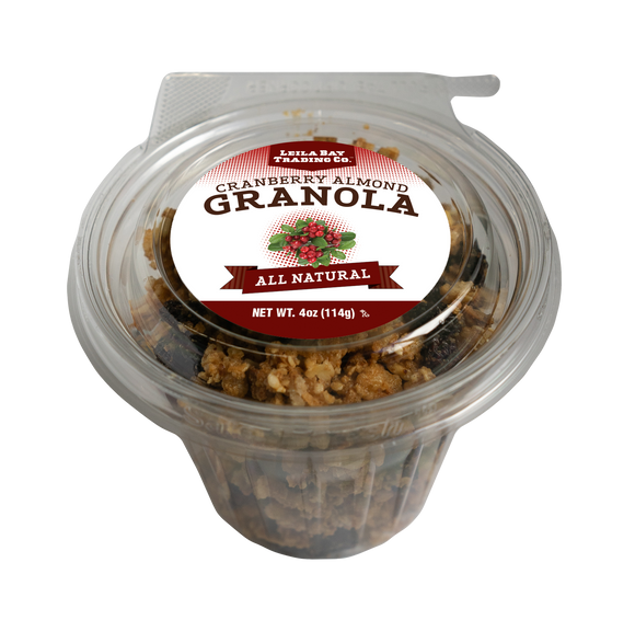 4 oz Single Serve Cranberry Almond Granola