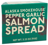 3.25 oz Pepper Garlic Salmon Spread