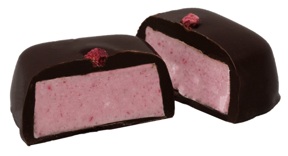 1.35 oz Dark Chocolate Raspberry Meltaways