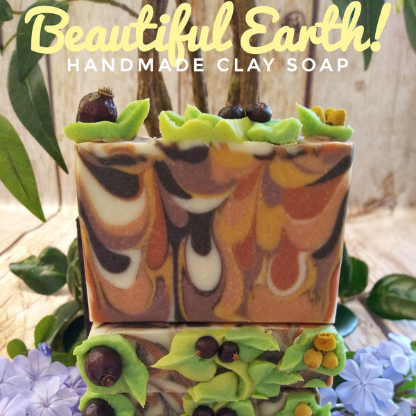 Beautiful Earth: Making Cold Process Clay Soap
