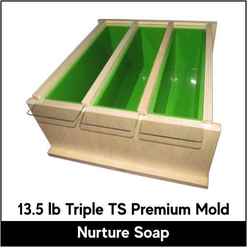 13.5 lb Triple Tall Skinny Premium Mold - Nurture Soap