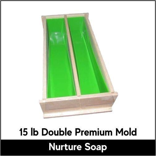 15 lb Double Premium Mold - Nurture Soap