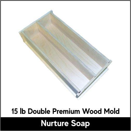 15 lb Wood Mold - Nurture Soap