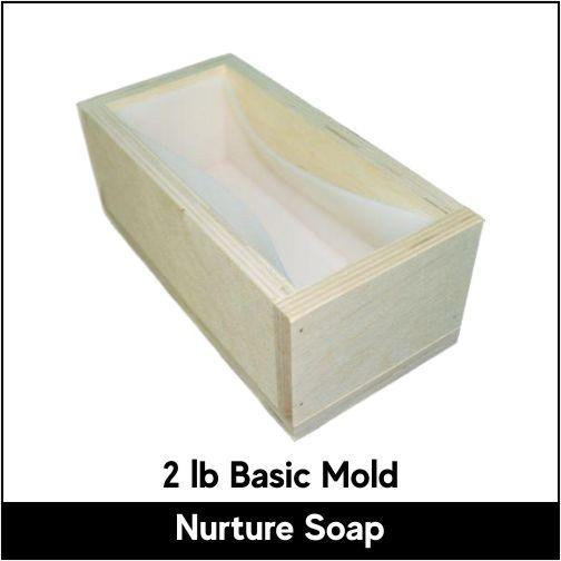 2 lb Basic Mold - Nurture Soap